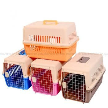 Standard Size Airline Approved High Quality Pet Cage Carrier 48.5cm x 31cm x 31cm